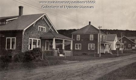 Rista Road houses, New Sweden, ca. 1922