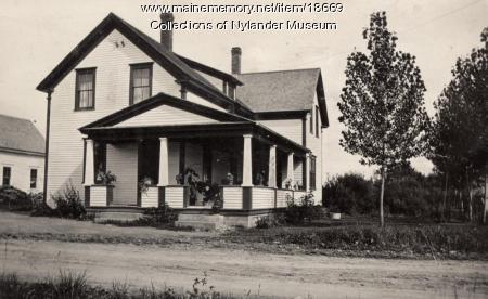 New Sweden Post Office, ca. 1922