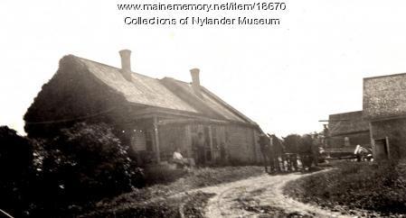 Olof H. Nilson farm, New Sweden, ca. 1922