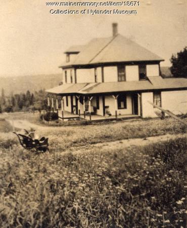 Oscar Hanson farm, New Sweden, ca. 1922