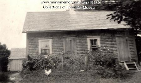 Luen Nilson house, West Road, New Sweden, ca. 1922