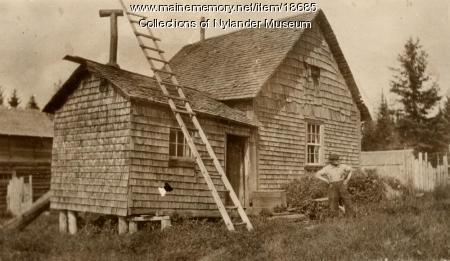 Per Larson house, New Sweden, ca. 1922