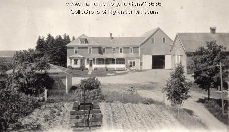 Phi J. Anderson farm, New Sweden, ca. 1922