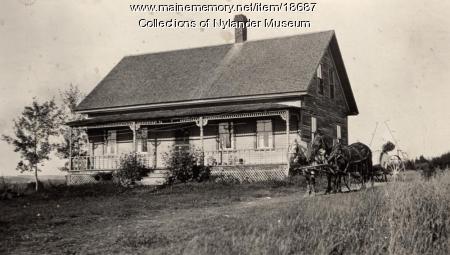 Robert Nylander house, New Sweden, ca. 1922