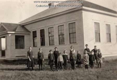 Lebanon Skolan, New Sweden, ca. 1922