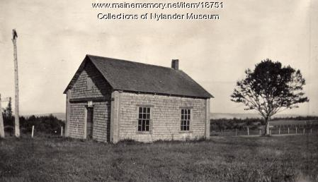 Madawaska School, New Sweden, ca. 1922