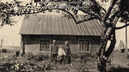 Olof Anderson farm, New Sweden, ca. 1922