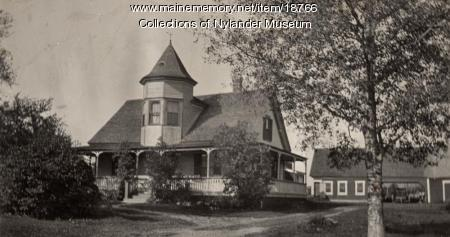 Emil Pearson home, New Sweden, ca. 1922