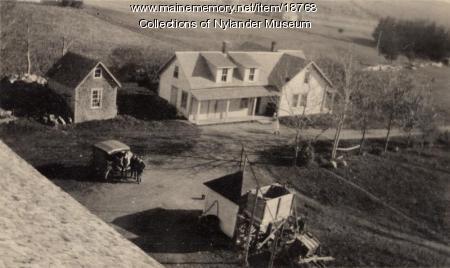 J. Osell farm, New Sweden, ca. 1922