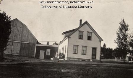 Axel Landfors farm, New Sweden, ca. 1922