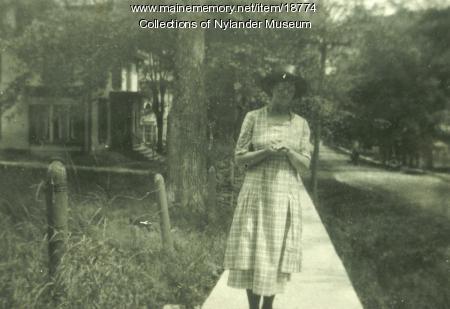 Elfrida Neilander, New Sweden, ca, 1922