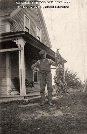 John Johnson, New Sweden, ca. 1922