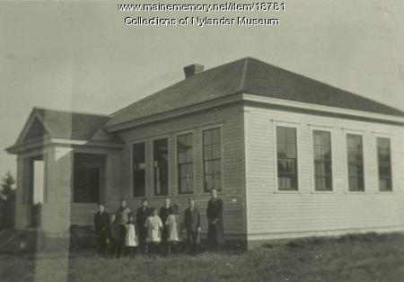 West Road Skolan, New Sweden, ca. 1922