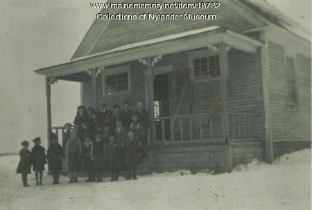 Skoland Skolan, New Swedsn, ca. 1922