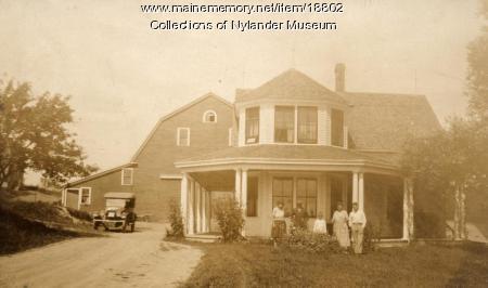 E. O. Hedman farm, New Sweden, ca. 1922