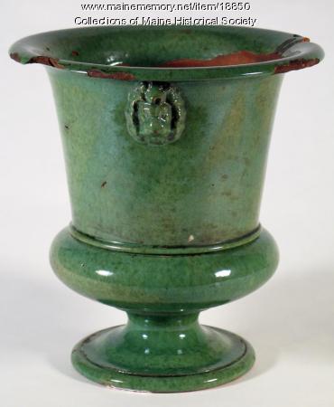 Flowerpot, Portland, ca. 1840