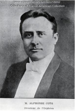 M. Alphonse Cote, Lewiston, 1918