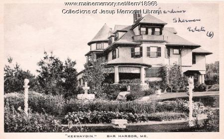 Keewaydin, Bar Harbor, ca. 1920