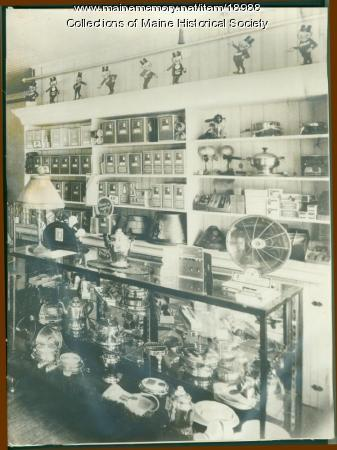 Appliance and electrical store, Central Maine Power Company