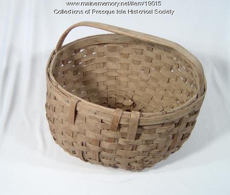 Potato Picker's Basket, Presque Isle, ca. 1940