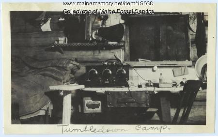 Tumbledown Camp, Maine Forest Department, ca. 1920