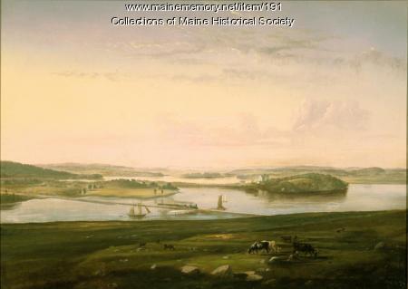 Martin's Point, Portland, ca. 1850