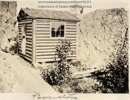 Forest Service camp, Boarstone Mountain, Elliottsville, ca. 1920