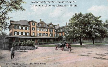 Belmont Hotel, Bar Harbor, ca. 1910