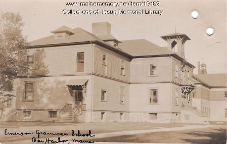 Emerson Grammar School, Bar Harbor, ca. 1900