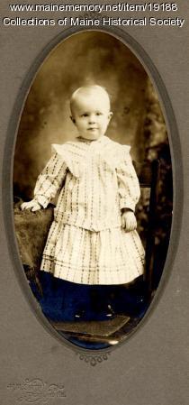 Arthur Ek, Portland, ca. 1903