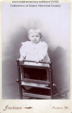 Ida Johnson, Portland, ca. 1897