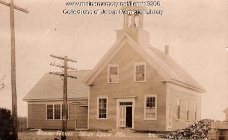 School House, West Eden, ca. 1920