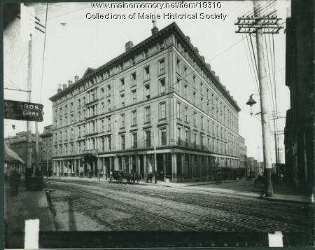 1900 Contributed By Maine Historical Society Item 19310 Falmouth Hotel Portland Ca