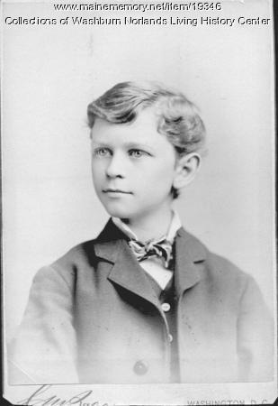 Cadwallader Lincoln Washburn, ca. 1878