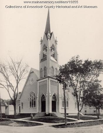 Methodist Episcopal Church, Houlton, ca. 1895