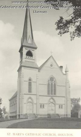 St. Mary's Catholic Church, Houlton, ca. 1895
