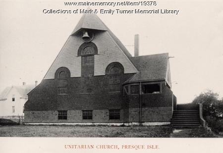Unitarian Church, Presque Isle, 1895