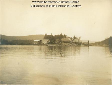Parmachenee Club, Treat's Island, ca. 1940