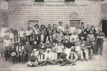 Cunningham Boarding House, Mount Desert, ca. 1905