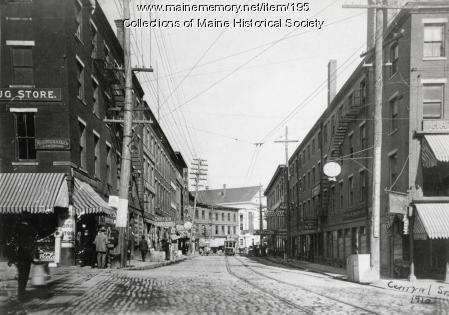 Central Street, Bangor, 1910