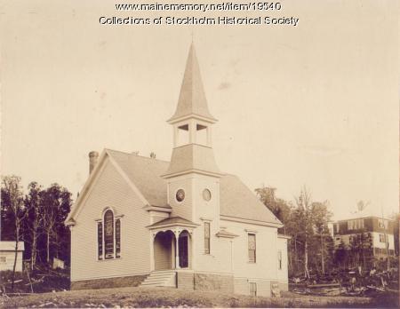 Baptist Church, Stockholm, ca. 1905