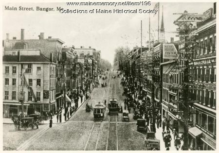 Main Street, Bangor, 1901