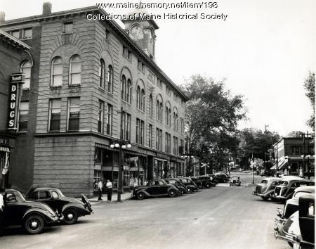 Main Street, Livermore Falls, 1937