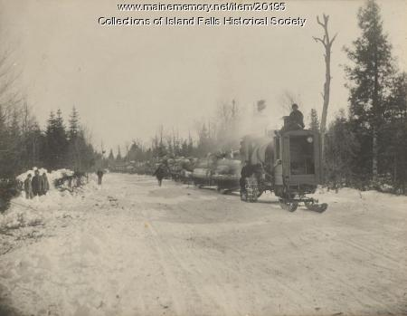 Lombard Hauler, Aroostook County, ca. 1910