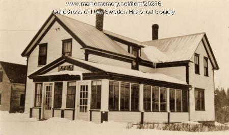 New Sweden Post Office, ca. 1938