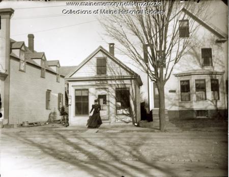Post office, Deering Center, 1897