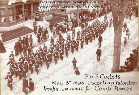 Portland High School Cadets, 1898