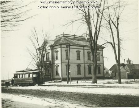 Old Deering High School, Portland, ca. 1900