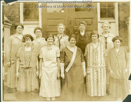 Teachers, Emerson School, Portland, 1925