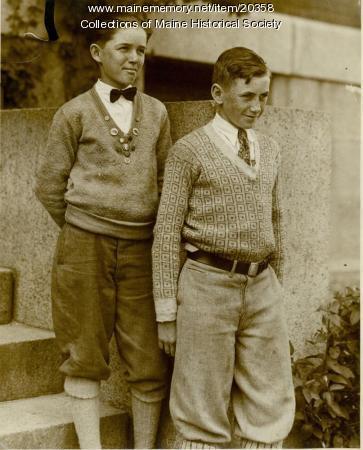 Students, Lincoln Junior High, Portland, 1925